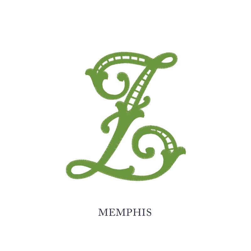 Wallace Monograms - Memphis. See samples of this monogram by searching #wpc_memphis on social media.