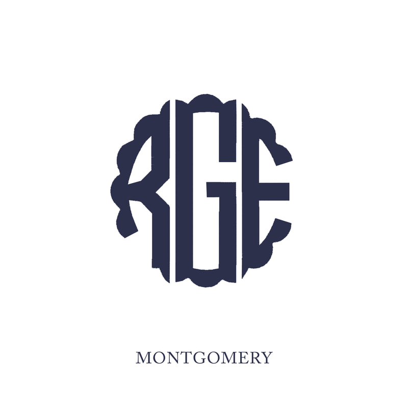 Wallace Monograms - Portland. See samples of this monogram by searching #wpc_portland on social media.