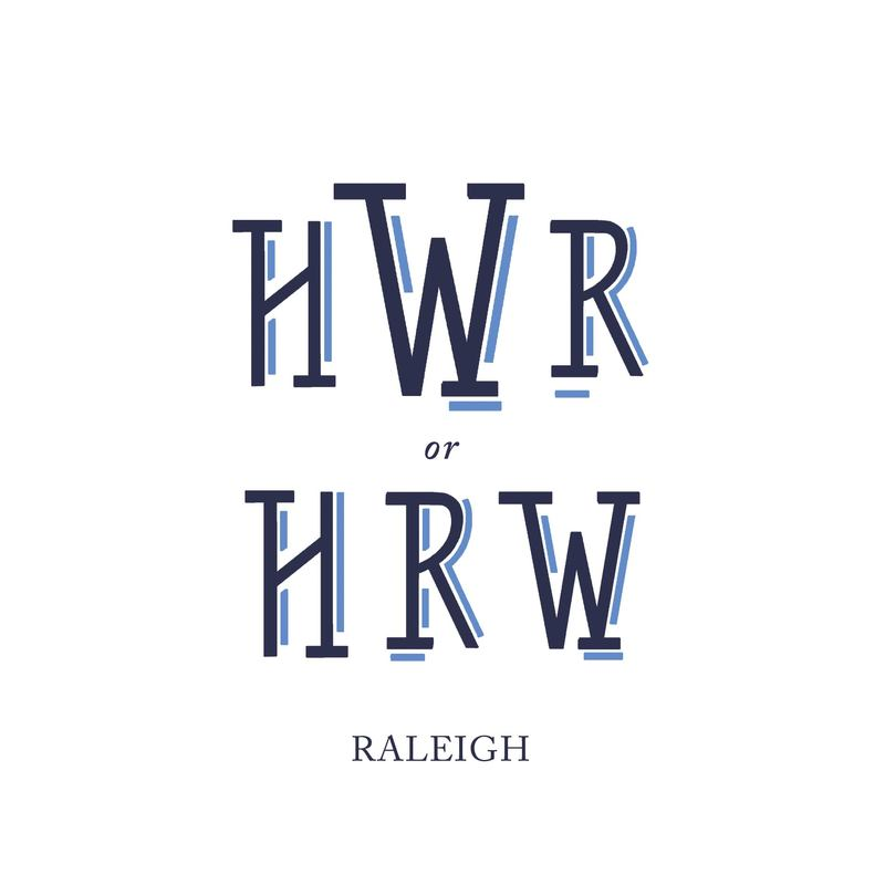 Wallace Monograms - Raleigh. See samples of this monogram by searching #wpc_raleigh on social media.